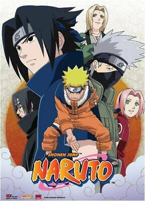 Naruto Group Shot Wall Scroll 2007 Great Eastern Entertainment