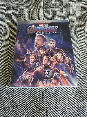 Avengers End Game (Blu-Ray, 2019) Marvel Movie New!