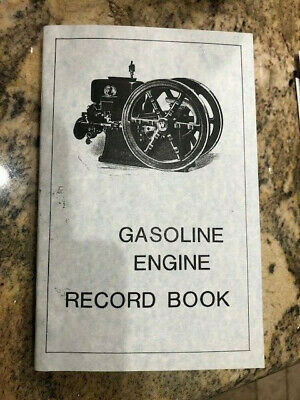 Hit Miss Engine Record Book