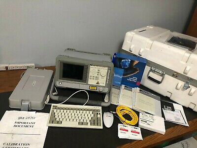 HP Agilent 8147 OTDR Complete System w/ carrying case, manuals and accessories