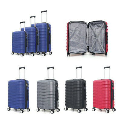 3 Pieces Set Luggage with wheel Travel Luggage 20in24in28in Expandable Suitcase
