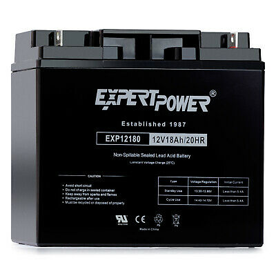 CB-18-12 Mighty Max 12V 18AH SLA Battery Replacement for Enduring CB18-12