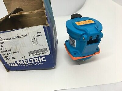 New Meltric 63-14073 Receptacle / Connector Dsn20 6314073