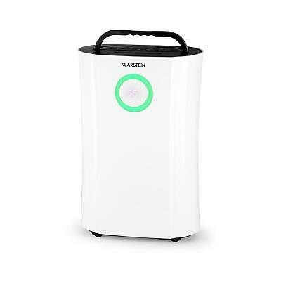 Electric Air Dehumidifier Portable Purifier Ionizer Dryer Room LED Timer White