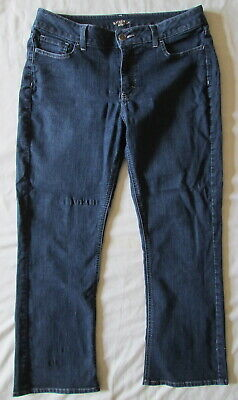 Riders by Lee DARK BLUE Midrise Bootcut stretch jeans 130N439 Size 14P ~ Nice