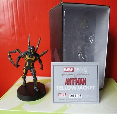 MARVEL MOVIE COLLECTION Eaglemoss YELLOW JACKET - FIGURINE OVP in Box..