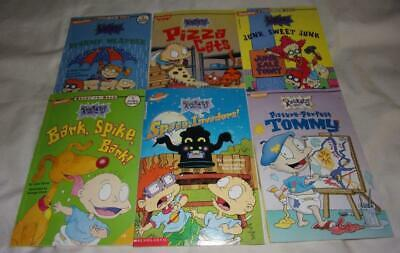 Set of 6 Rugrats Ready-to-Read picture books