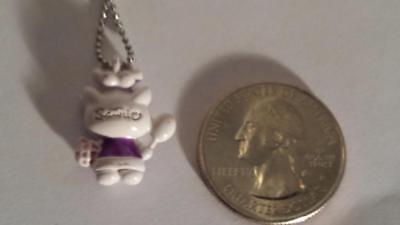 RARE Sanrio Hello Kitty Girls Necklace Pendant Cat Baker Chef Cook Jewelry CUTE