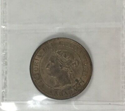 Canada 1888 ICCS   Large Cent  MS 63 Red Nice Coin Very Well Struck