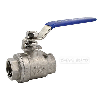 1//4/'/' Kitz # 52 316 STAINLESS STEEL BALL Valve New Threaded End 600 WOG AKUTKM
