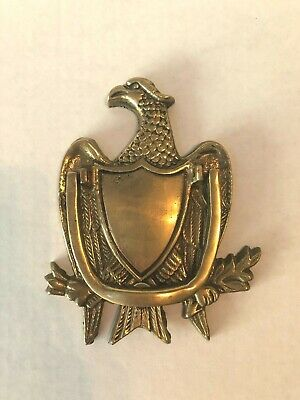 Vintage Brass Eagle Door Knocker International Express Mfg.