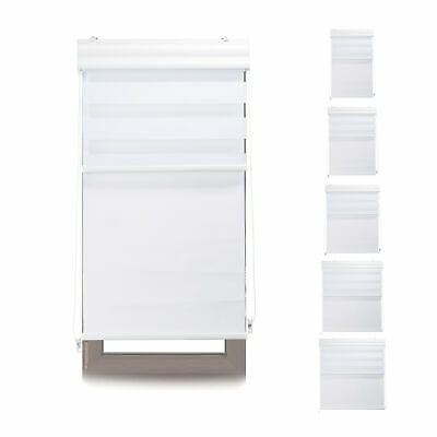Double Roller Blinds, Darkening Blackout Shades, Thermal Lining, Side Chain