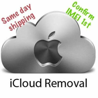 Apple Ipad Watch Iphone Id Fmi Activation Lock Removal Icloud Unlock 100% Clean