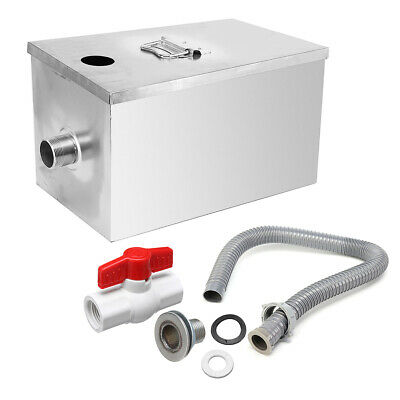 Commercial Upgraded Grease Trap Interceptor Stainless Steel Kitchen Wastewater