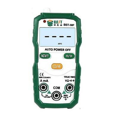 BESTBST-58F Automatic Range Digital Multimeter High Precision Electrician Intell