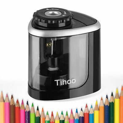 Portable Electric Pencil Sharpener Automatic Touch Switch School Office Classroo