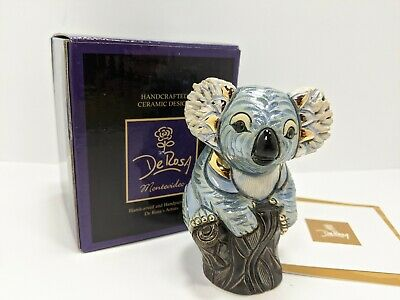 NEW #F348 New In Box De Rosa Rinconada Family Collection /'Baby Grizzly Bear/'