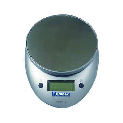Electronic Scale for Kg.3 for 1 Gr. Tecnogas 11465