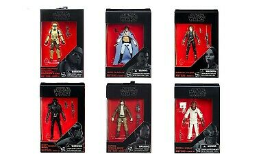 Star Wars The Black Series 3.75 Inch Figures 6 Pack Action Figures Set SEALED