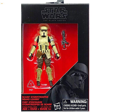 Star Wars Scarif Stormtrooper Squad Leader Action Figure The Black Series SEALED