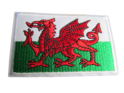 STEREOPHONICS WALES NATIONAL FLAG  ROCK MUSIC BAND EMBROIDERED PATCH UK SELLER
