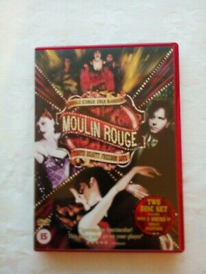Moulin Rouge (DVD, 2004, 2-Disc Set includes 6 hours of Bonus features)