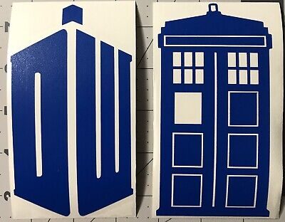 TARDIS FAMILY DOCTOR WHO Decal Vinyl Car Window Sticker ANY SIZE