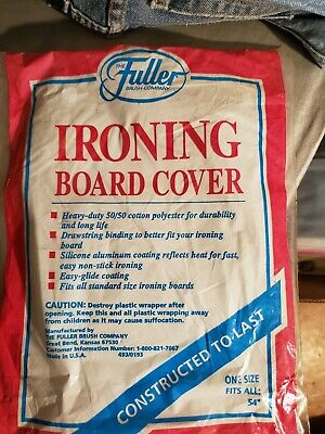"""Ironing Board Cover ~One Size Fits All 54""""~ New old stock Fuller Brush"""