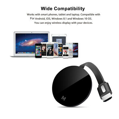 1x Mirascreen G7M 2.4G WiFi Wireless HD 1080P Airplay DLNA Mirroring TV Dongle