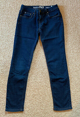 GAP Girls Blue Jeggings / Stretchy Jeans, Age 12 Years