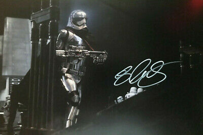 Gwendoline Christie - Star wars - signed autographed PHOTO 12X8 WITH COA