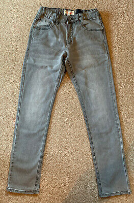 C&A - Boys Grey Jeans, Size 158 (Age 13 Years)
