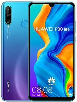 Huawei P30 Lite 128GB 4GB RAM Dual SIM Peacock Blue on BT Mobile