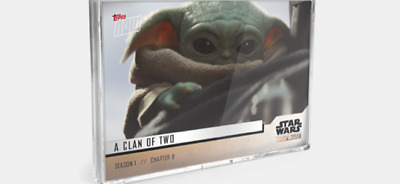 2019 Topps Now Star Wars The Mandalorian 5-Card Pack Season 1 Chapter 8 #36-40