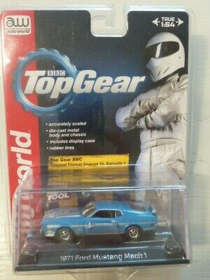 auto world 1/64 TopGear Ford Mustang Mach 1 1971