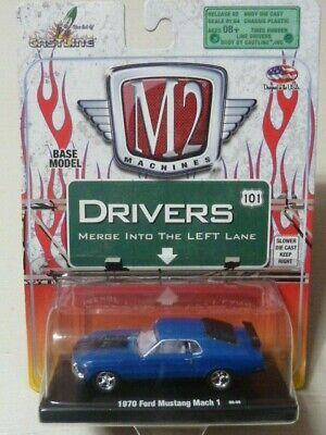 M2 Machines 1:64 Ford Mustang Mach 1 1970