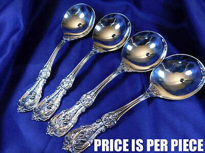 Reed & Barton Francis 1St Sterling Silver Cream Soup Spoon - Nearly New