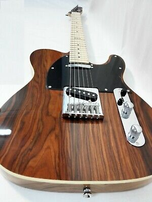 Haze Solid Body Electric Guitar,SS Pickups,Brown CocoBolo Top+Free Bag 01M 830C