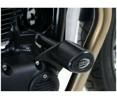 Triumph 1200 Thruxton-16/19 - Protections Tampons R&G- Cp0407Bl