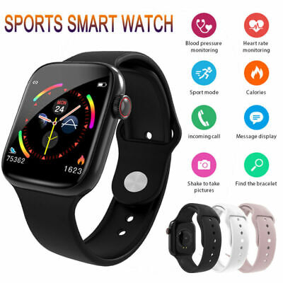 W4 Smart Watch Heart Rate Blood Pressure Fitness Tracker For iOS Android UK