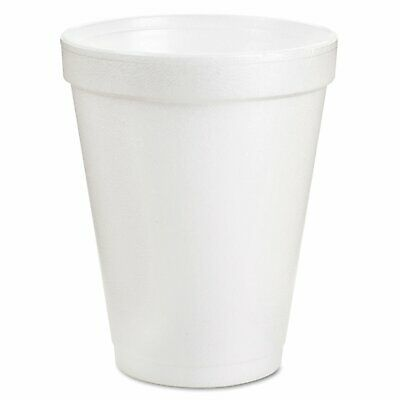 Styrofoam Coffee Cups Hot Cold Beverage White Foam Drink Cup 8 ounce 1000 Ct New