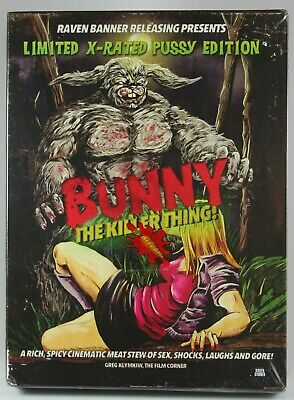 Bunny the Killer Thing BluRay Limited Edition Number BRAND NEW OOP Horror