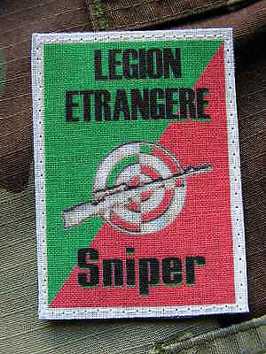 "Patch Aufnäher Fremdenlegion /"" Antik 2ème Rep /"" Para Tap Matt 49"