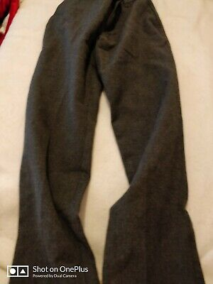 Lovely Boys George pull up Grey School Fashion Pants Age 6-7 yrs
