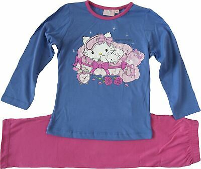 Girls Charmmy Kitty Hello Kitty  long Sleeve Pyjamas Set Purple-4 Years