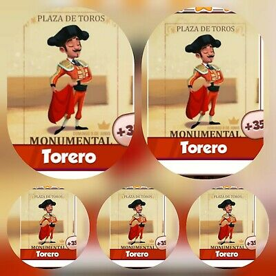 5x Torero ### Coin Master Cards (Fastest Delivery)
