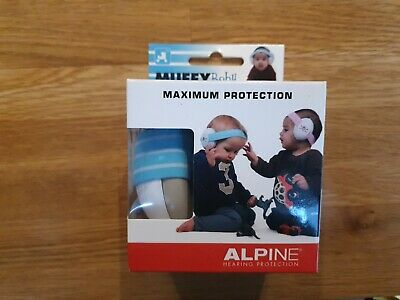 Alpine Muffy Baby Blue - Baby Hearing Protection - Earmuffs - Brilliant product