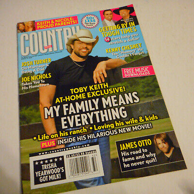 Toby Keith Covers Country Weekly Magazine August 2008 Ronnie Milsap