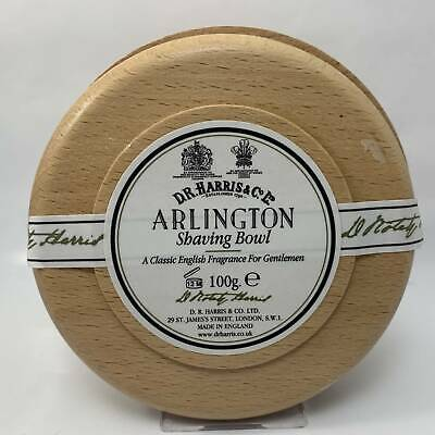 Arlington Shaving Soap in a Wooden Bowl - by D.R. Harris & Co. (Pre-Owned)