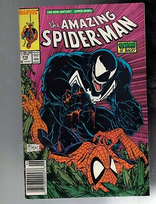 Amazing Spider-Man #316 7.0 FN/VF First McFarlane Cover